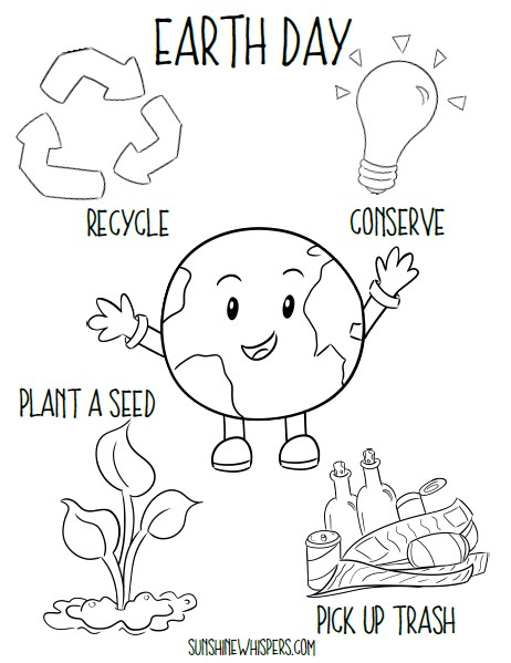 FREE Earth Day Printables For Kids