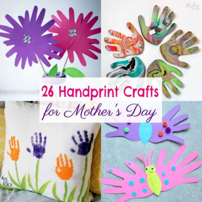 Adorable Mother's Day Handprint Crafts for Kids