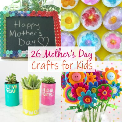 20+ Fantastic Mother's Day Crafts For Kids Ideas