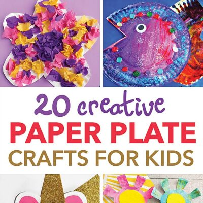20 Creative Paper Plate Crafts For Kids
