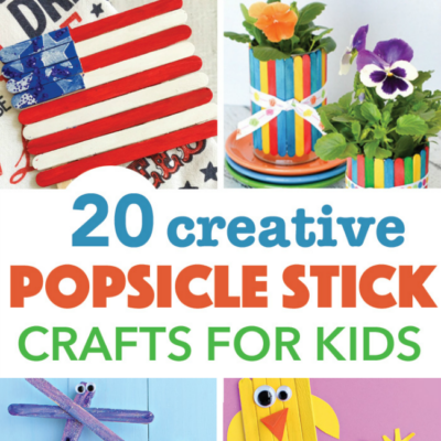 20 Creative Popsicle Stick Crafts For Kids
