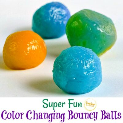 Color Changing Bouncy Balls