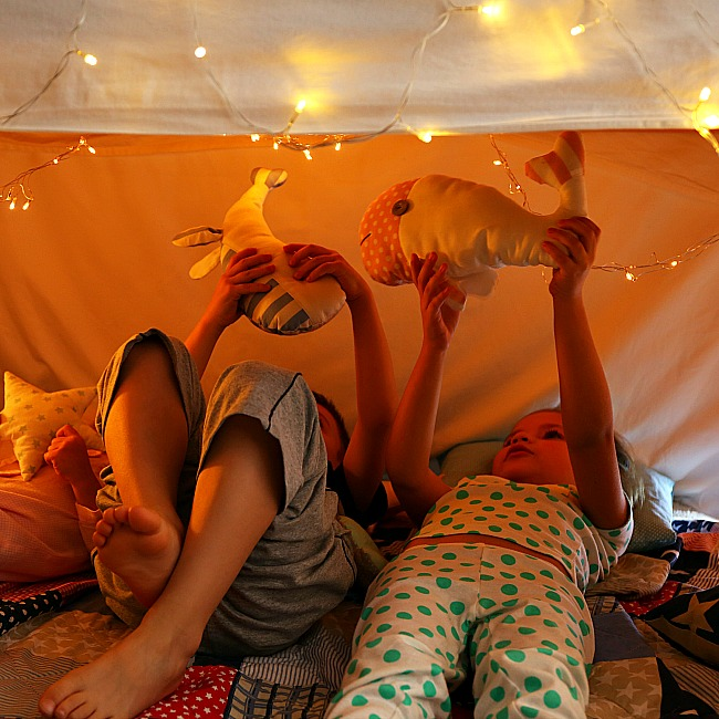 build an epic indoor fort