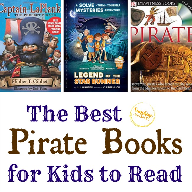 The Best Pirate Books for Kids to Read
