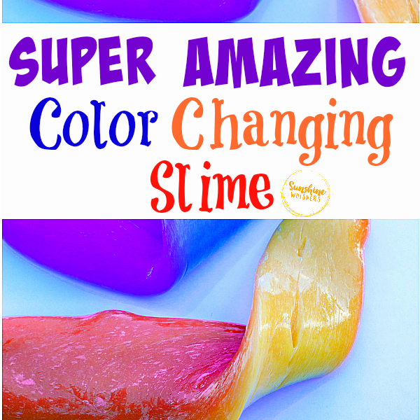 color changing slime