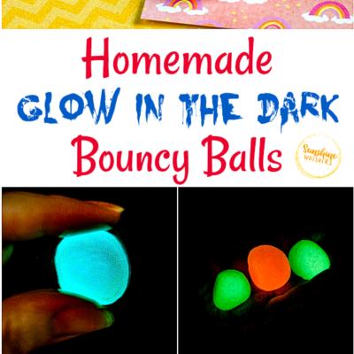 glow in the dark bouncy balls