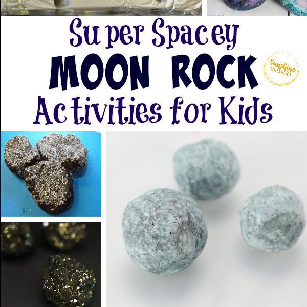 moon rock activities for kids