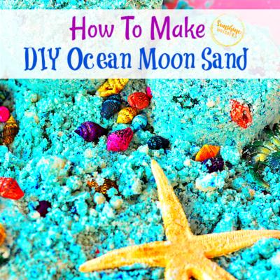 How To Make DIY Ocean Moon Sand