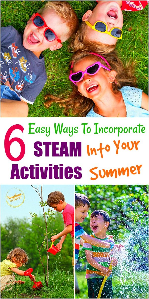 6 easy ways to incorporate steam activities into your summer
