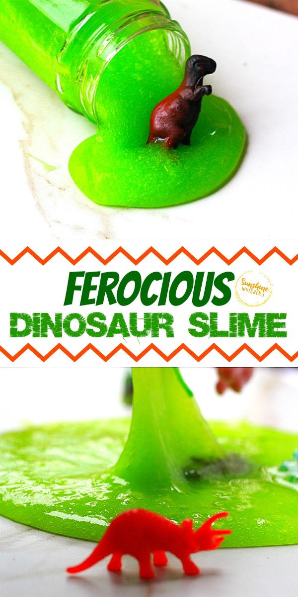 dinosaur slime