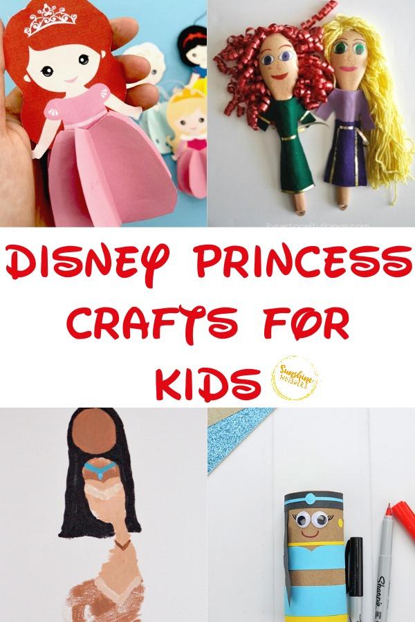disney princess crafts for kids