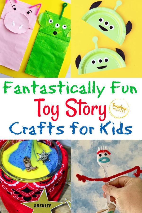Toy Story Crafts for Kids