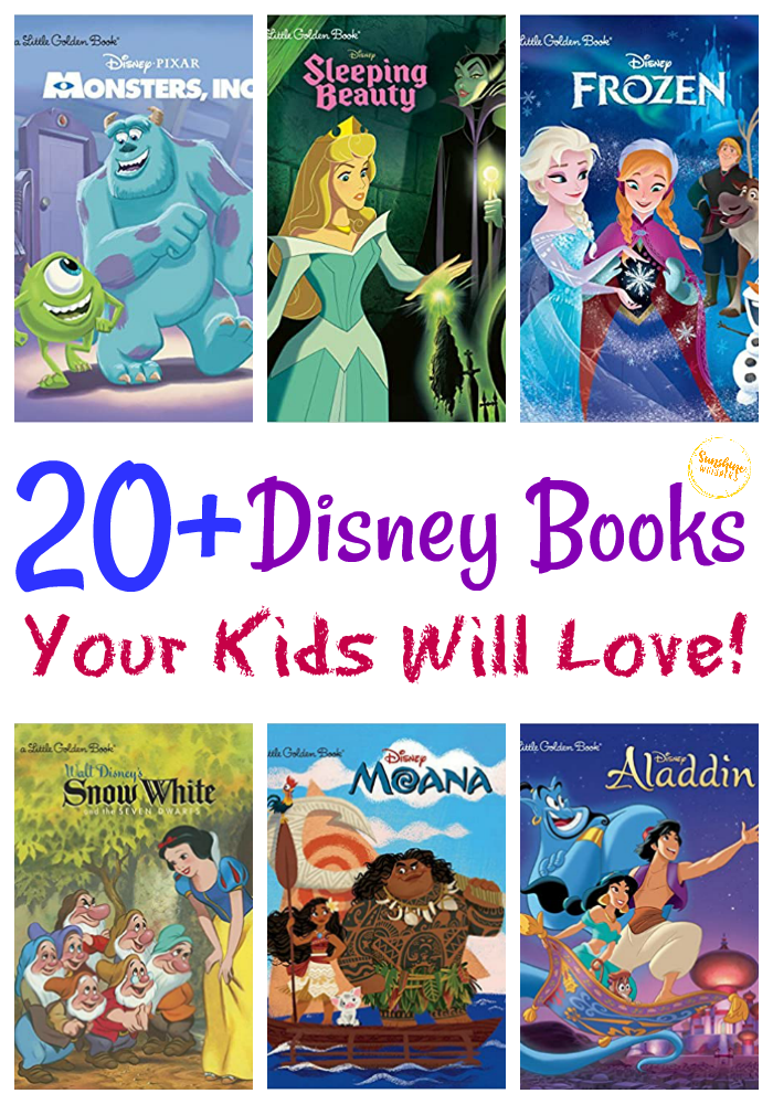 disney books your kids will love