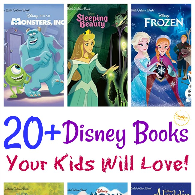 disney books your kids will love