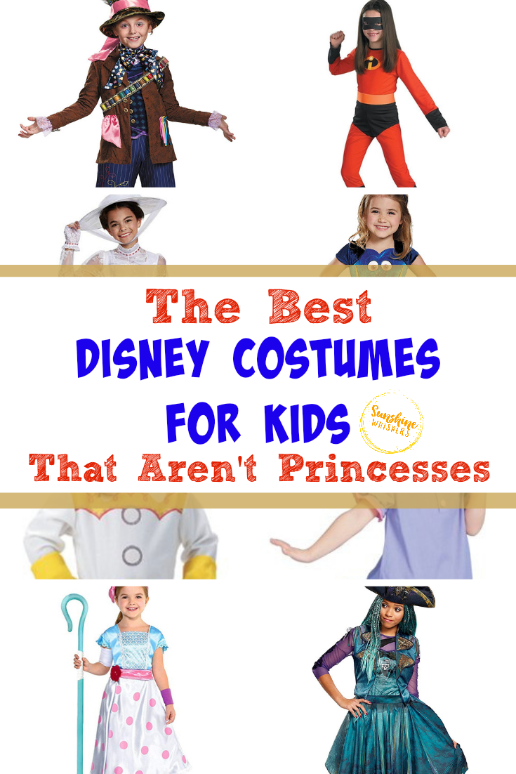 disney costumes for kids that aren't princesses