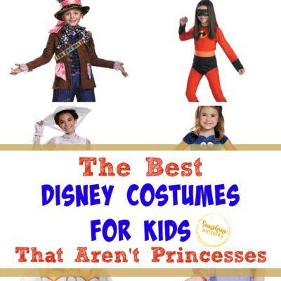 The Best Disney Costumes for Kids that Aren't Disney Princesses
