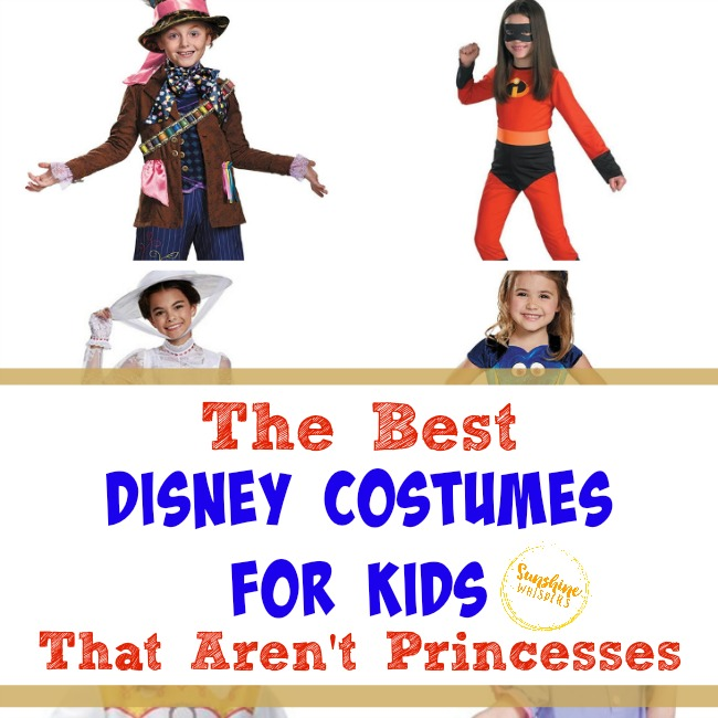 disney costumes for kids that aren't princesses