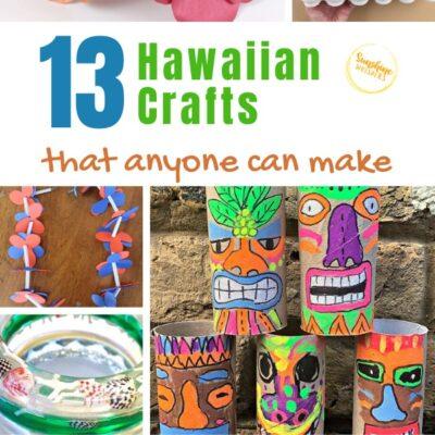 Hawaiian Crafts for Kids