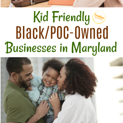 Kid Friendly Black Owned Businesses In Maryland