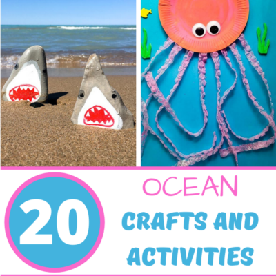 20+ Amazing Ocean Crafts And Activities For Kids