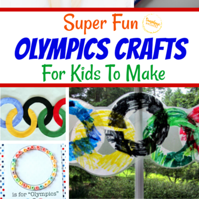 Super Fun Olympics Crafts For Kids To Make