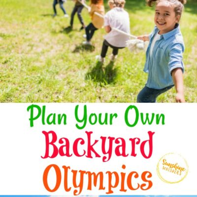 Plan Your Own Backyard Olympics