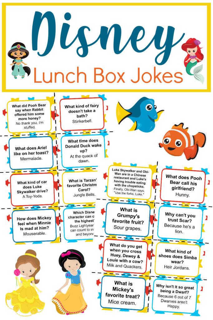 disney lunch box jokes