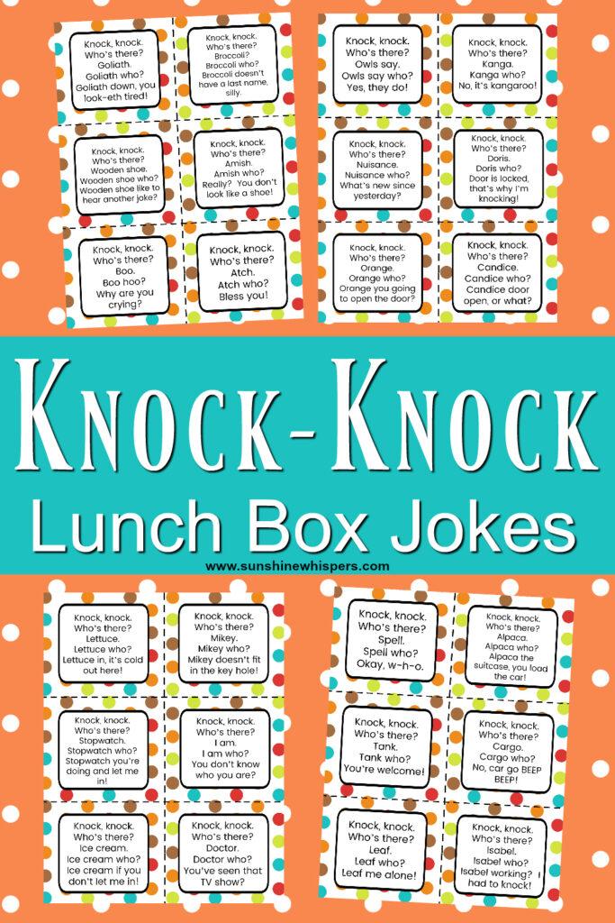 knock knock lunch box jokes