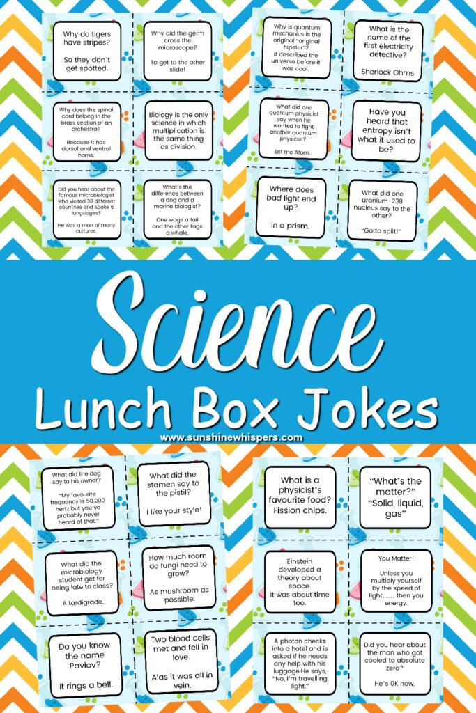 science lunch box jokes