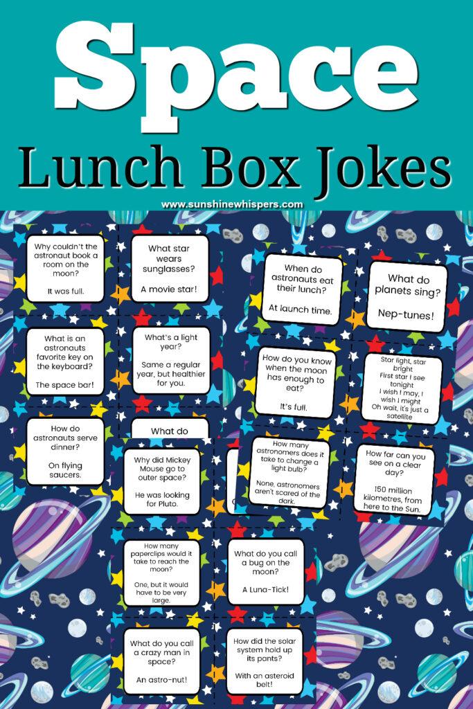 Space Lunch Box Jokes