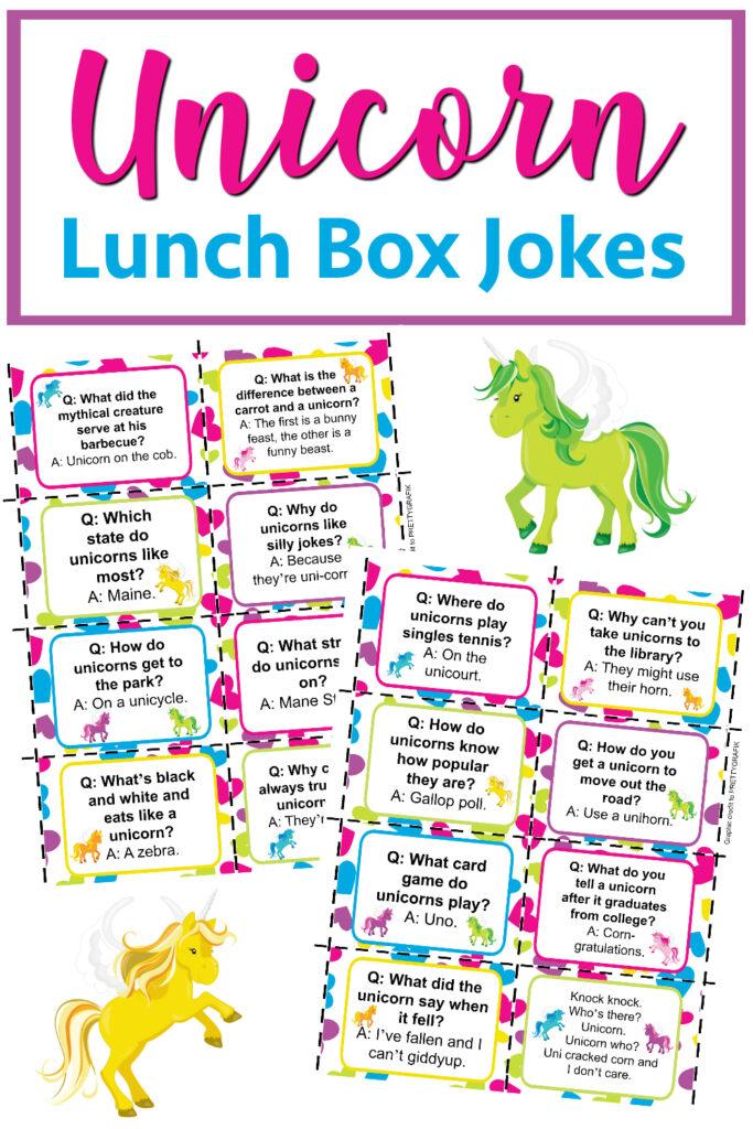 Unicorn lunch box jokes