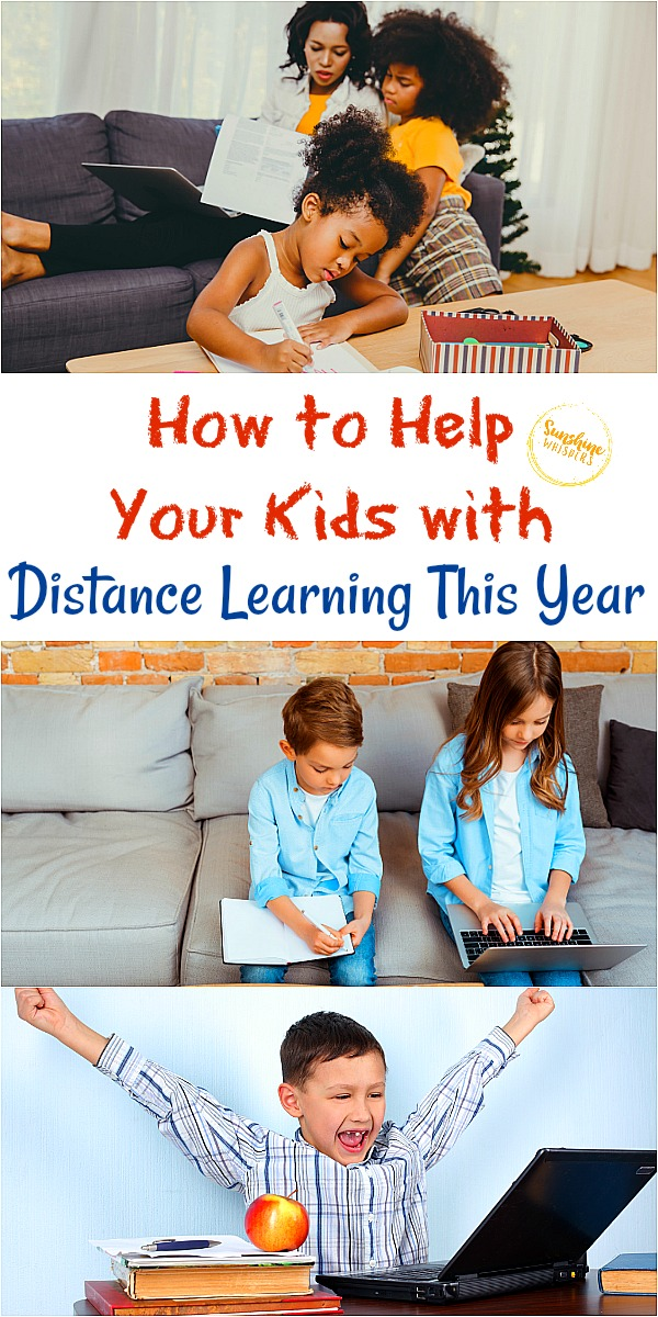help your kids with distance learning