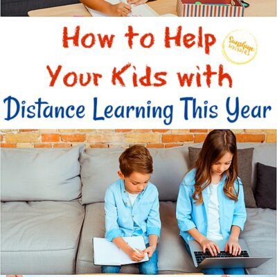 How to Help Your Kids with Distance Learning This Year