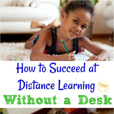 How to Succeed at Distance Learning Without a Desk