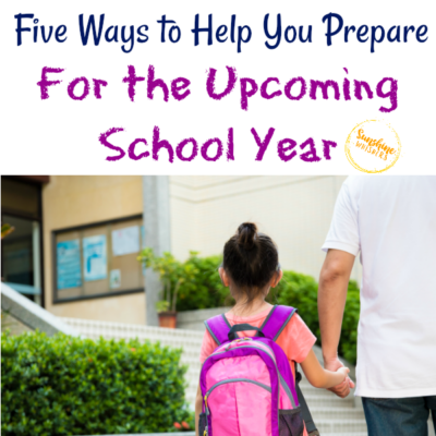 prepare for the upcoming school year