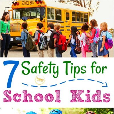 safety tips for school kids