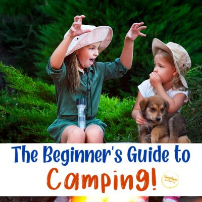 beginner's guide to camping