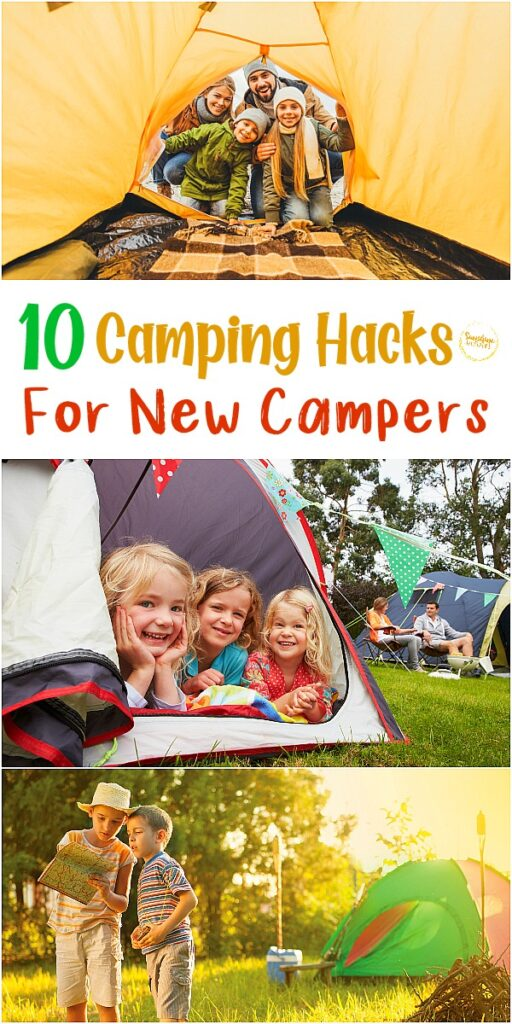 camping hacks for new campers