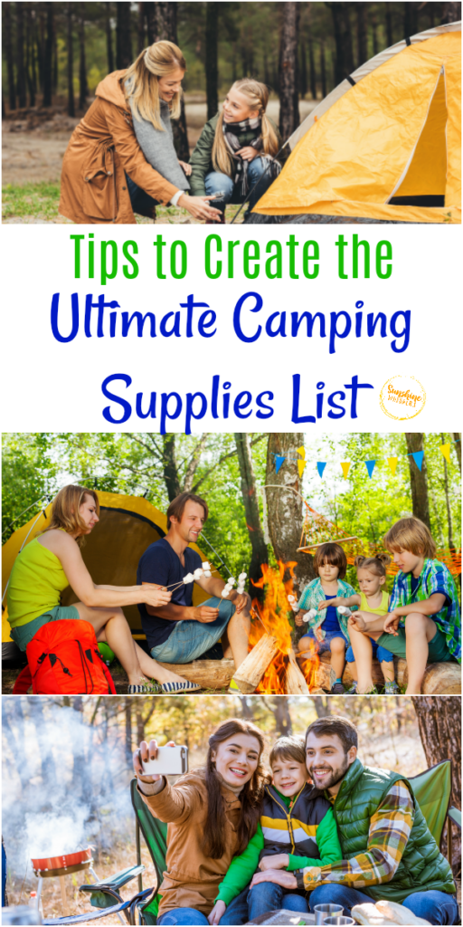 ultimate camping supplies list