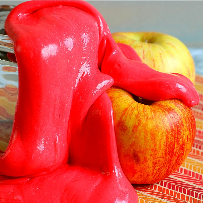 Apple Scented Slime