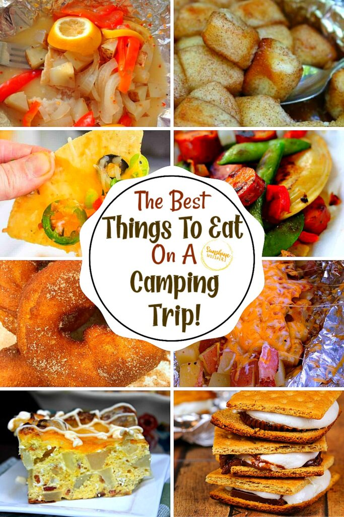 Best things to eat on a camping trip