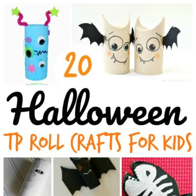 Super Spooky Halloween Toilet Paper Roll Crafts For Kids