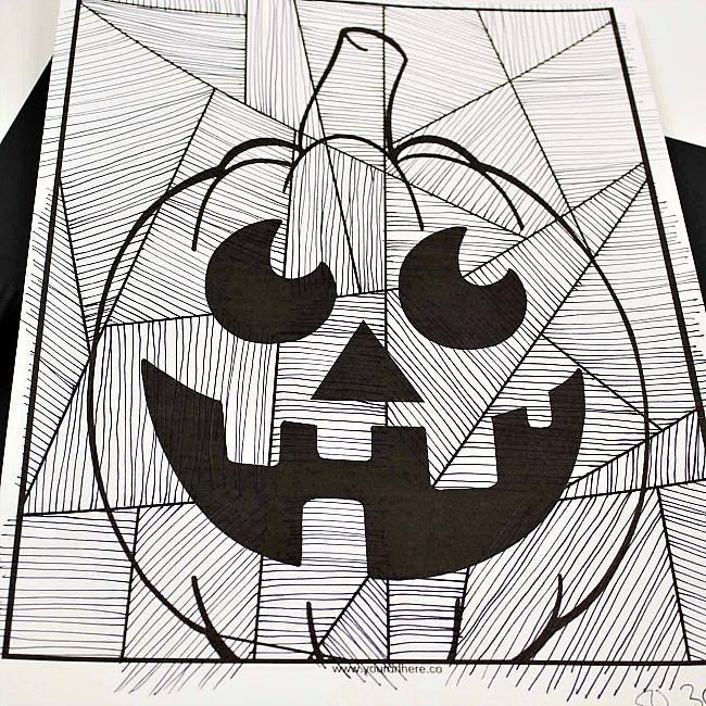 Jack O Lantern Craft for Kids