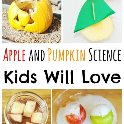 Apple and Pumpkin Science Experiments Kids Will Love!