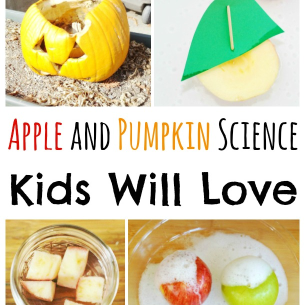 apple and pumpkin science experiments