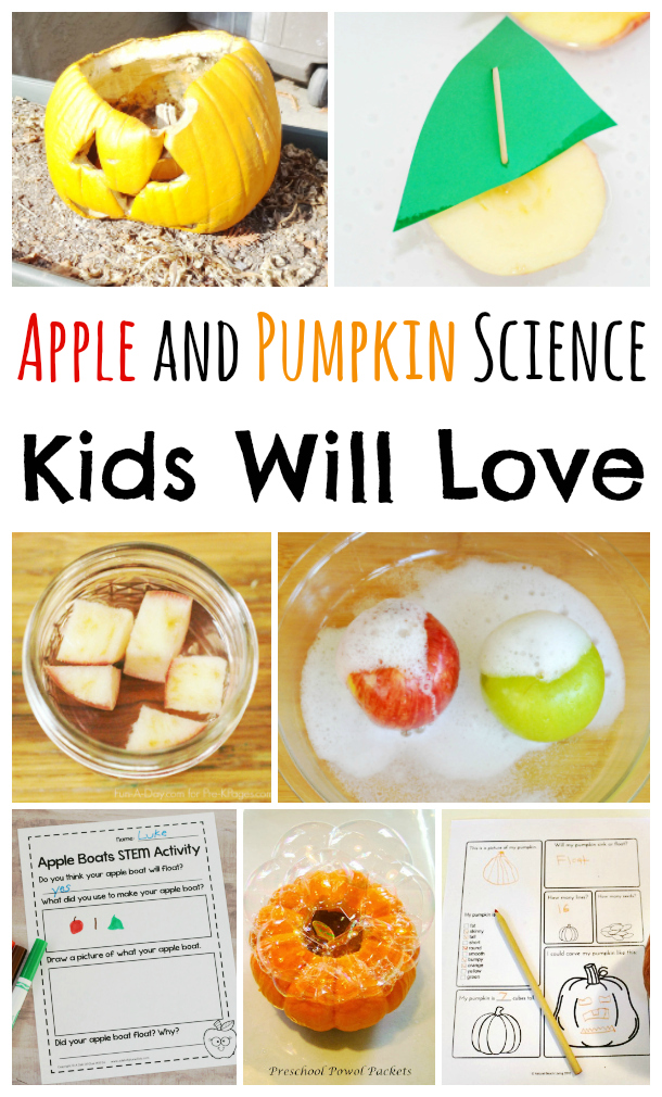 Apple and Pumpkin Science