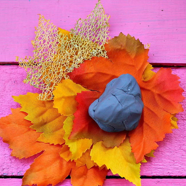 fall tree playdoh