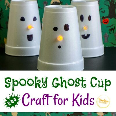 ghost cup craft