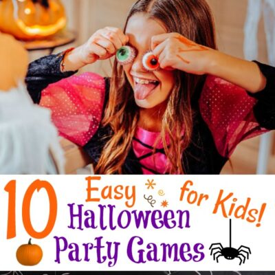 10 Easy Halloween Party Games For Kids