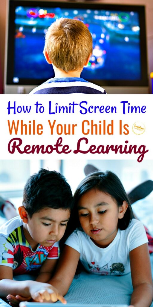 limit screen time